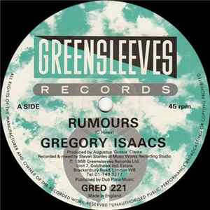 Gregory Isaacs - Rumours FLAC Album